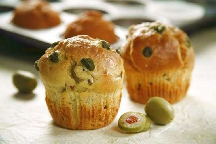Muffin alle olive