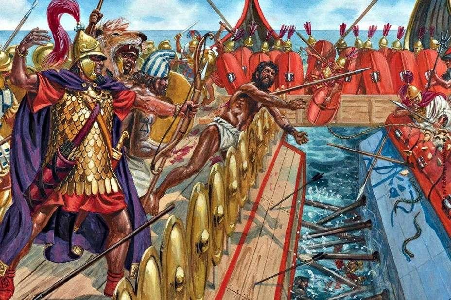 romani in battaglia